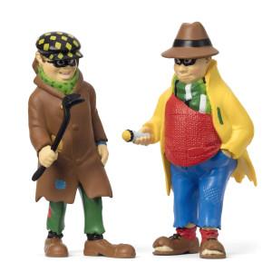 Pippi Långstrump - Dunder-Karlsson & Blom Figurset