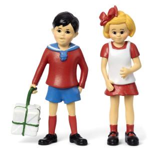Pippi Långstrump - Tommy & Annika Figurset