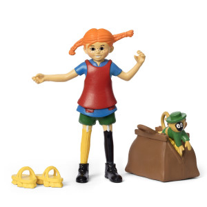 Pippi Långstrump - Pippi Figurset