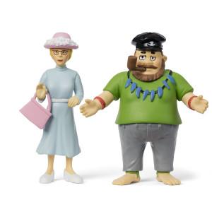 Pippi Långstrump - Efraim & Prussiluskan Figurset