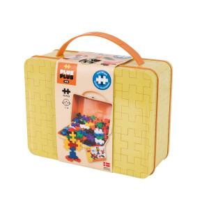 Plus Plus BIG Väska i metall Basic gul