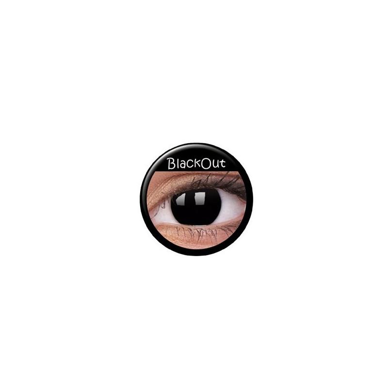 färgade linser svarta