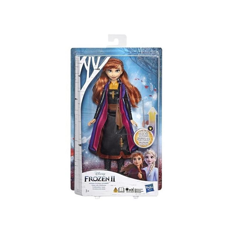 Frozen 2 Anna Docka med ljus