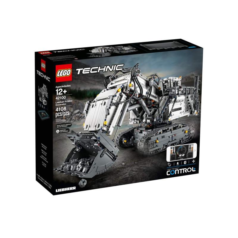 LEGO® Technic Liebherr R 9800 grävmaskin 42100