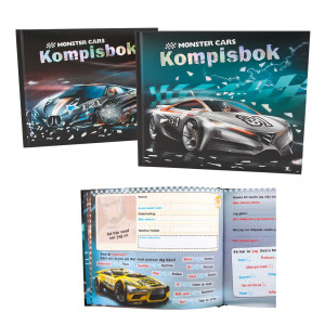 Monster Cars Kompisbok Bil 121