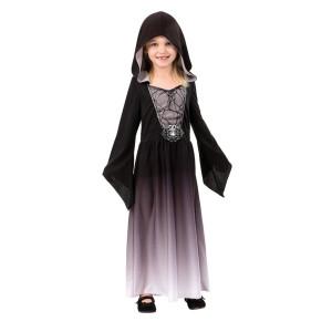 Maskeraddtäkt Grå klänning med huva