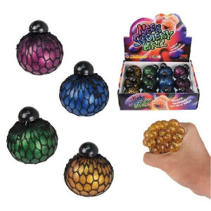 Klämboll Mesh Ball Glitter 55mm