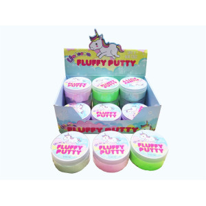Unicorn Fluffy Putty