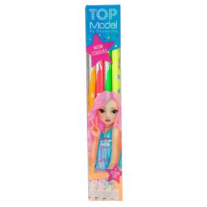 TOPModel Färgpennor Neon