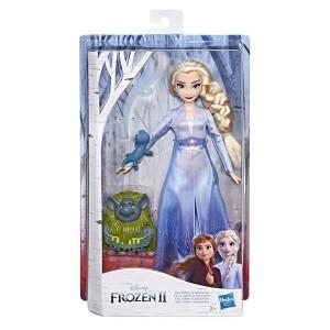Frozen 2 Elsa, Pabbie & Salamander Docka med tillbehör