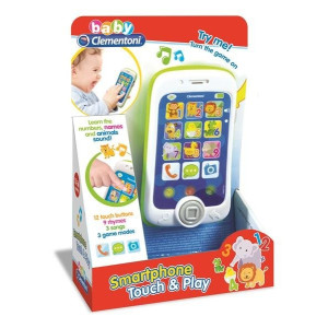 Baby Smartphone med ljud och ljus