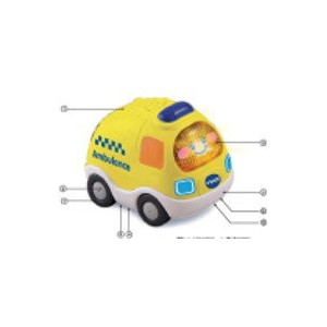 Vtech Toot-Toot Driver Ambulans