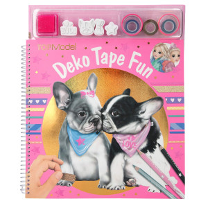 TOPModel Deko Fun Tape Pysselbok DOG
