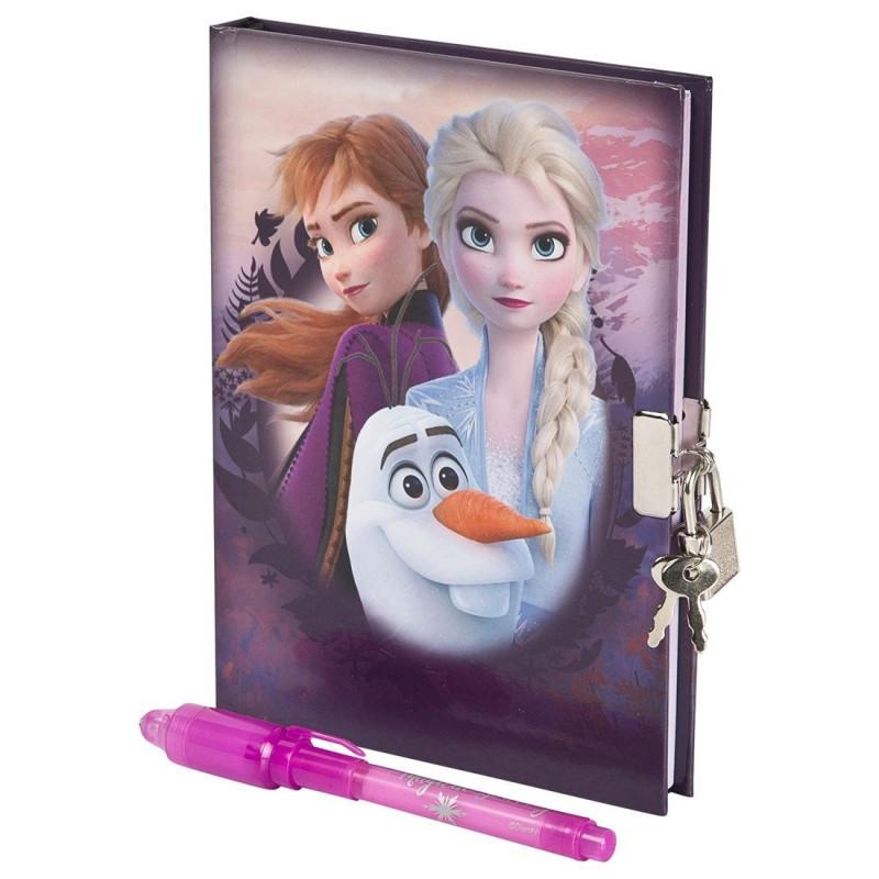 Frozen 2 Dagbok med magisk penna