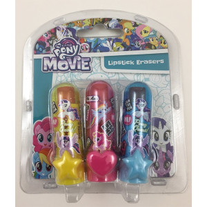 My Little Pony Suddgummi Läppstift 3-pack