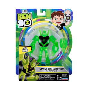 Ben 10 Figur Out of the Omnitrix Diamondhead