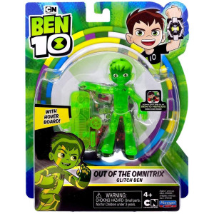 Ben 10 Figur Out of the Omnitrix Glitch Ben