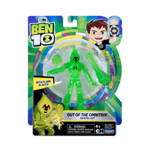 Ben 10 Figur Out of the Omnitrix Heatblast