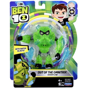 Ben 10 Figur Out of the Omnitrix Overflow