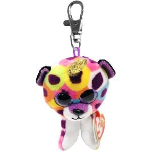 TY Beanie Boos GISELLE Regnbågsleopard med horn Clip