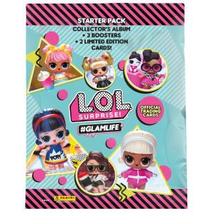 L.O.L. Surprise Glamflife Starter Pack Samlaralbum