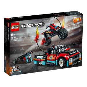 LEGO® Technic Stuntuppvisningsbil & motorcykel 42106