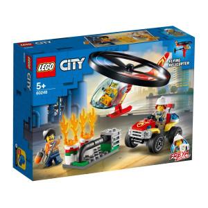 LEGO® City Räddning med brandhelikopter 60248