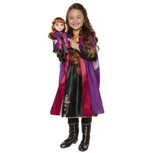 Frozen 2 Anna Docka och klänning