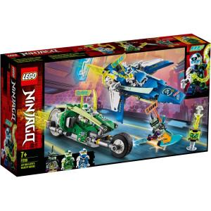 LEGO® Ninjago Jay och Lloyds racerfordon 71709