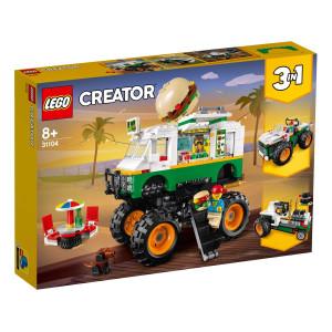 LEGO® Creator Hamburgermonstertruck 31104