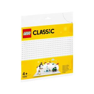 LEGO® Classic Vit basplatta 11010