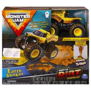 Monster Jam Monster Dirt Starter Set Earth Shaker