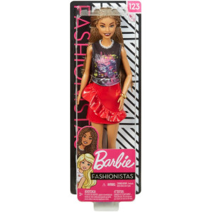 Barbie Fashionistas Docka 123 FXL56