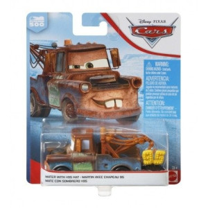 Cars 1:55 Mater with 95 hat FLL68