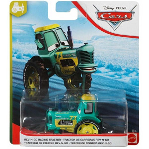 Cars 1:55 Rev-N-Go Racing Tractor GBV57