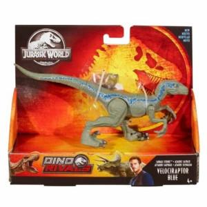 Jurassic World Savage Strike Velociraptor Blue GFG67