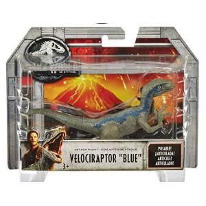 Jurassic World Attack Pack Velociraptor Blue