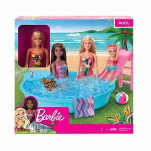 Barbie Pool med Docka Lekset GHL91