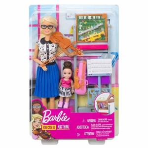 Barbie Career Lekset Musiklärare FXP18