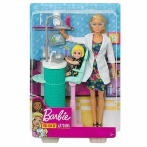 Barbie Career Lekset Tandläkare FXP16