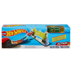 Hot Wheels Classic Stunt Electric Tower FTH80