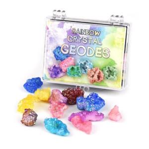 Rainbow Crystal Geodes i ask
