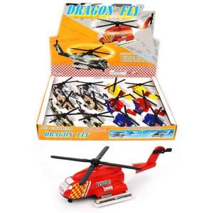 Helikopter med pullback
