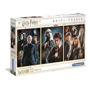 Clementoni Harry Potter Pussel 3x1000 bitar 61884