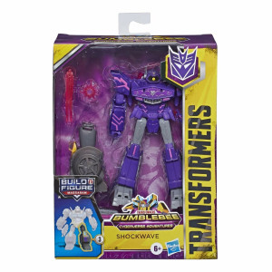 Transformers Cyberverse Deluxe Shockwave E7098