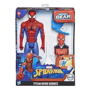 Spiderman Blast Gear Figur med tillbehör