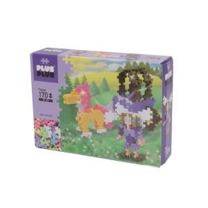 Plus Plus Mini Pastel Häst med vagn 170 bitar
