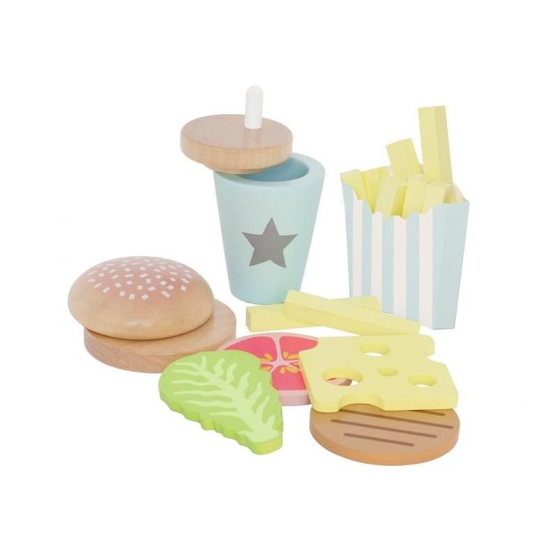 Jabadabado Burger meal