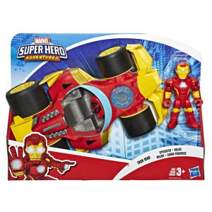 Super Hero Adventures Iron Man med fordon