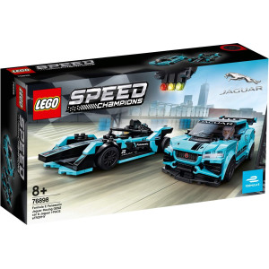 LEGO® Speed Champions Formula E Panasonic Jaguar Racing GEN2 car & Jaguar I-PACE
